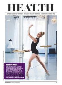 Barre fitness-Dec 2014