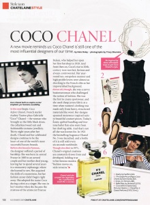 Chatelaine - Coco Chanel