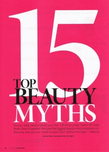 CHE-beauty myths