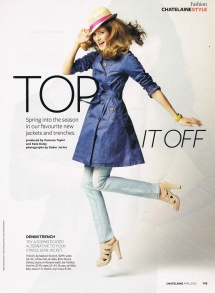Chatelaine: Top It Off