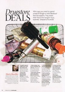 Chatelaine Drugstore Deals
