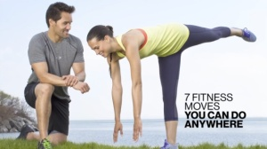 Fitness Video: 7 Fitness Moves You Can Do Anywhere
