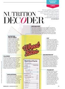 Nutrition Decoder